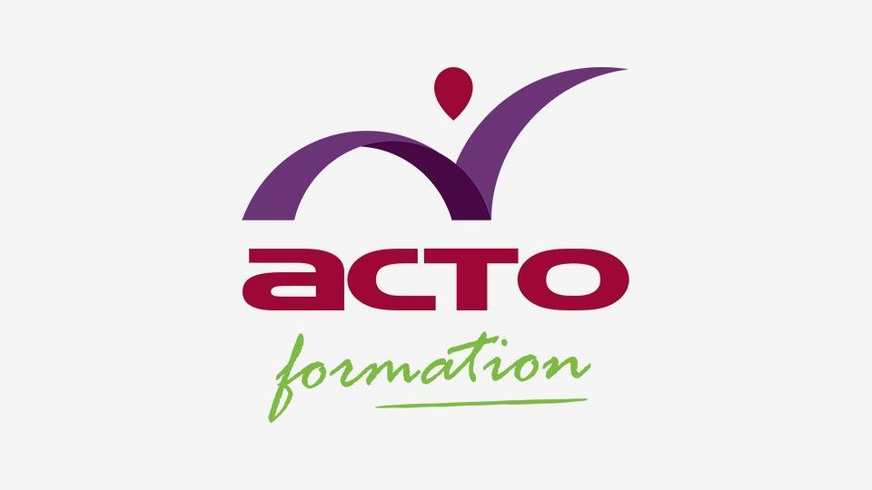 Logo acto formation
