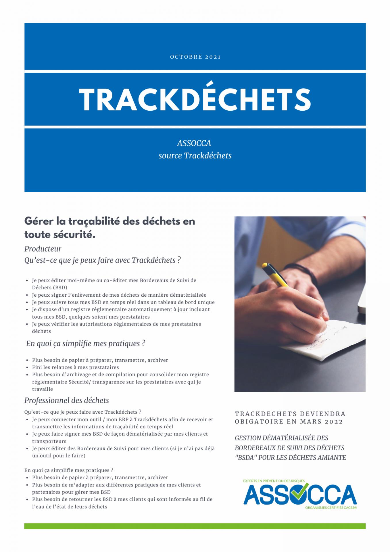Trackde chets
